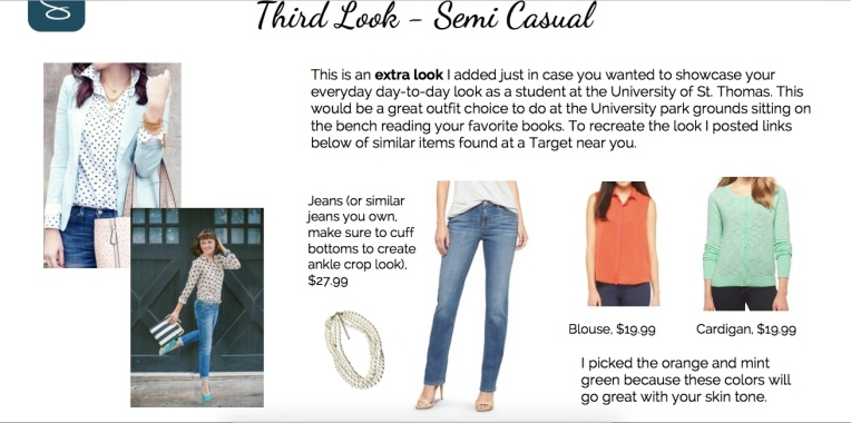 third look - semi casual